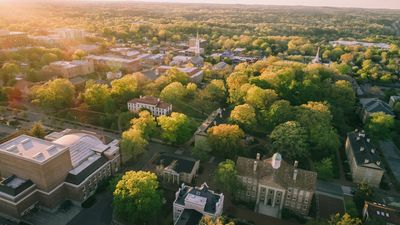 picture of college town