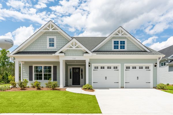 New home in Murrells Inlet SC exterior