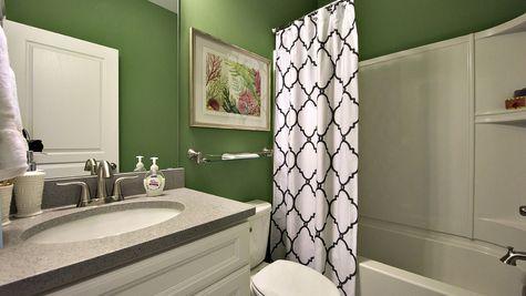 Guest Bathroom - Yates Plan