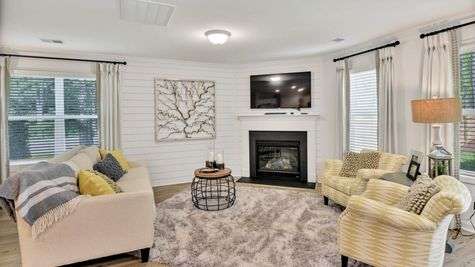 Family Room | Dawson Plan