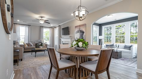 Eat-In to Living Room | Palmer Plan