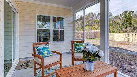 Screened-In Porch | Jensen Plan