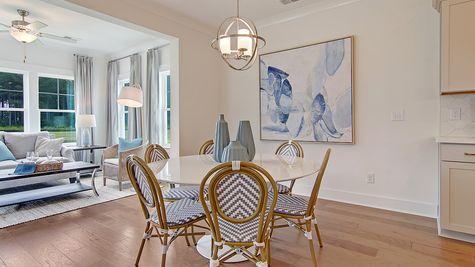 Eat-In to Sunroom   Webster Plan