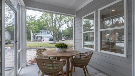 Screened-In Porch | Overland Plan