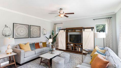Living Room   Russel Plan