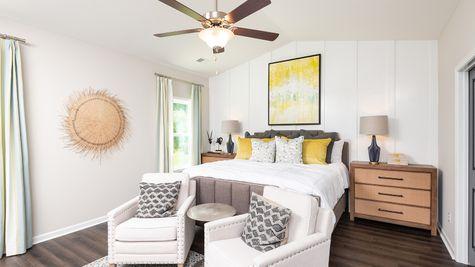 Primary Bedroom | Pickens Plan