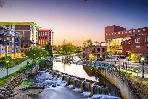 Greenville Cityscape