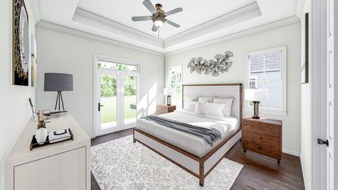 Primary Bedroom | Jenkins Plan