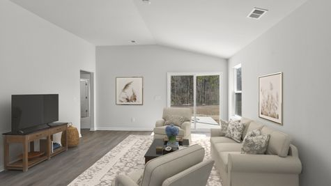 Family Room | Brunswick Plan