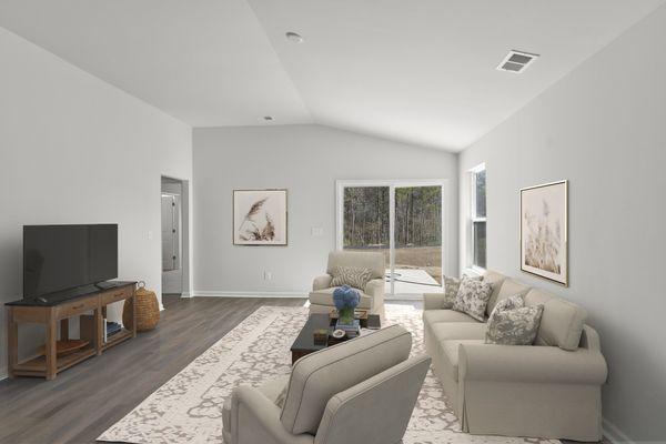 Family Room   Brunswick Plan