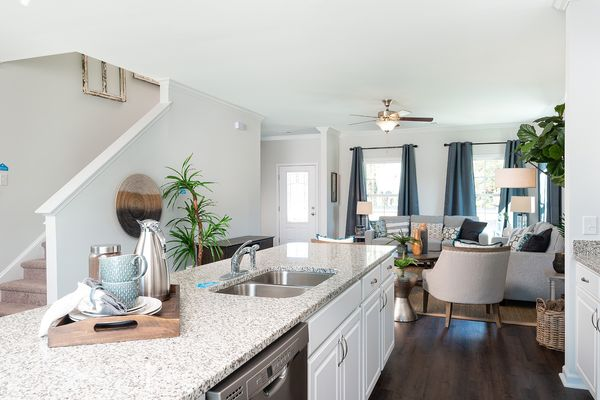 Kitchen to Family Room | McDowell Plan