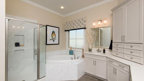Master Bathroom | Patterson Plan