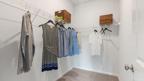 Primary Closet | Dorchester Plan