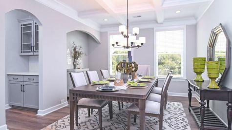 Dining Room   Breckenridge Plan