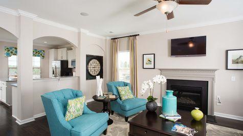 Family Room | Langford Plan