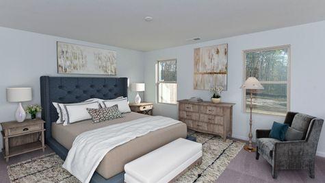 Primary Bedroom | Monroe Plan