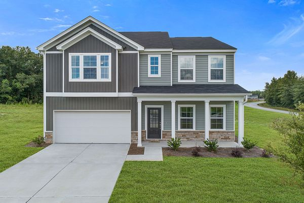 New home in Boiling Springs SC with modern farmhouse style