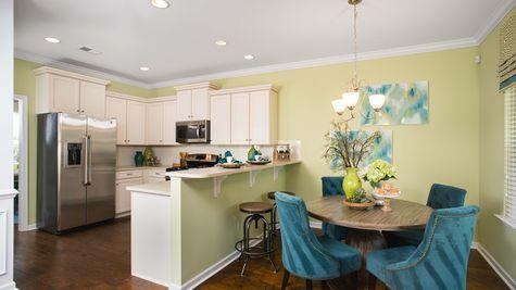 Kitchen and Breakfast | Richardson Plan