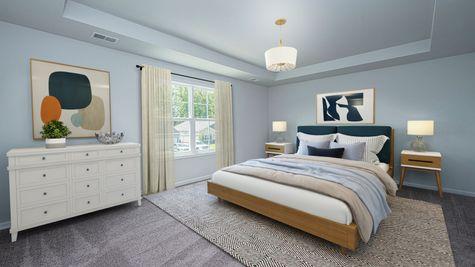 Primary Bedroom | Turner Plan