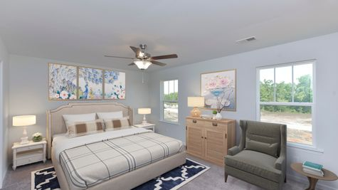 Primary Bedroom | Dixon Plan