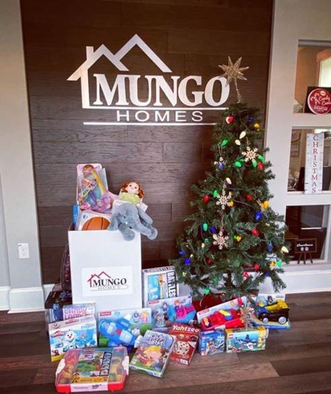 Mungo Homes' donation to community organization