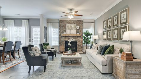 Family Room | Davidson Plan