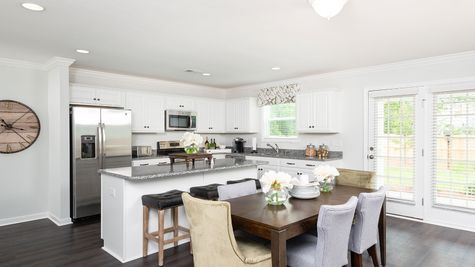 Kitchen and Eat-In | Lancaster Plan