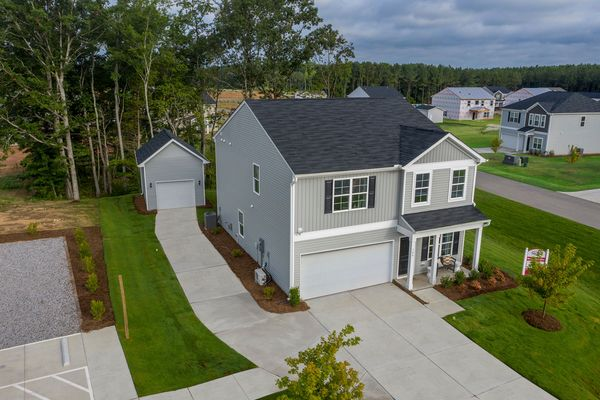 New home for sale in Franklinton NC with detached garage