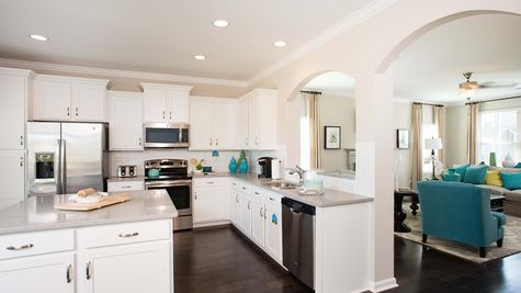 Kitchen to Family Room | Langford Plan