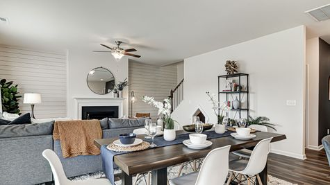 Eat-In to Family Room | Meriwether Plan
