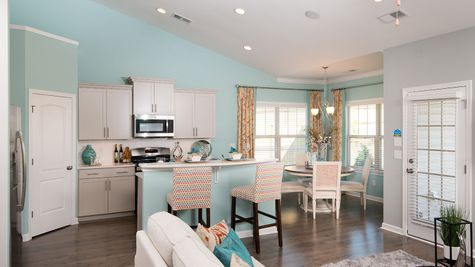 Kitchen and Eat-In | Carson Plan