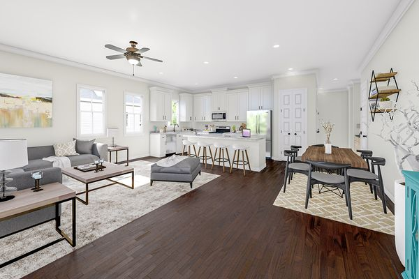Family Room | Albemarle Plan