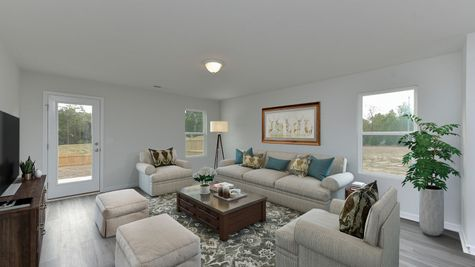 Family Room | Rutherford Plan