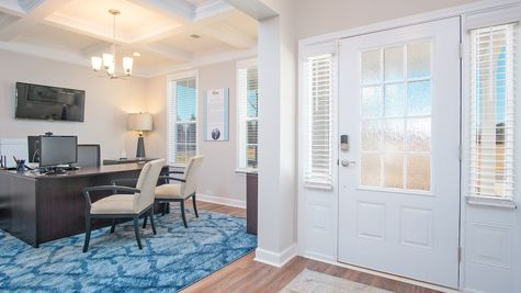 Foyer Office | Hayward Plan