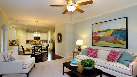 Eat-In to Living Room - Yates Plan