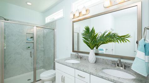 Master Bathroom | Hartford Plan