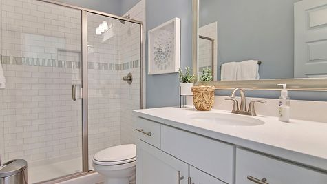 Secondary Bathroom | Webster Plan