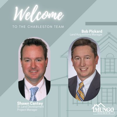 New additions to the Mungo Homes team in Charleston SC