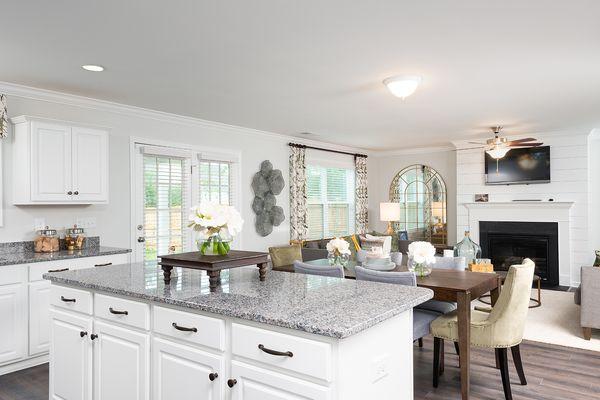 Kitchen to Family Room | Lancaster Plan