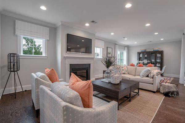 Family Room   Overland Plan