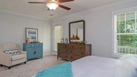 Primary Bedroom | Andrews Plan