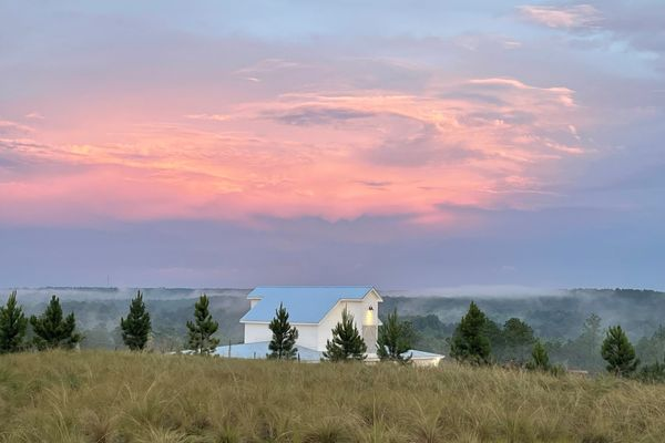 Scenic views outside Bluefield's new homes for sale in Lexington SC