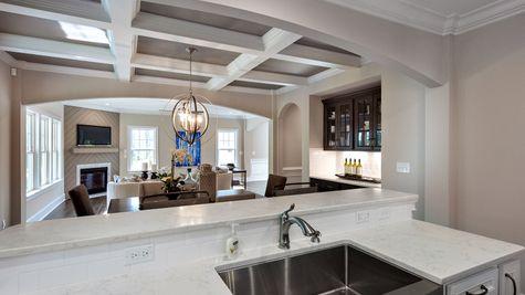 Kitchen to Dining Room | Warwick Plan