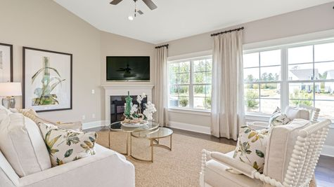 Family Room | Edgewood Plan