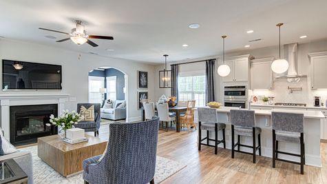Family Room and Kitchen | Nantahala Plan