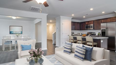 Family Room and Kitchen | Kershaw Plan