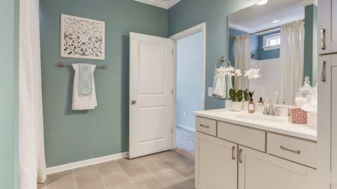 Master Bathroom | Jensen Plan