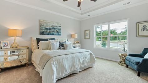 Primary Bedroom | Dorchester Plan