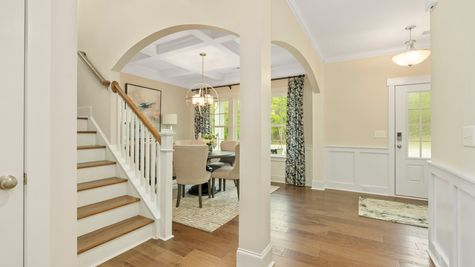 Foyer and Dining Room | Victor Plan