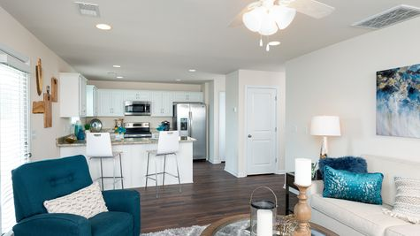 Family Room to Kitchen | Guilford Plan
